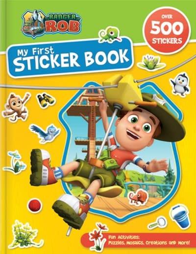 CrackBoom! Books Ranger Rob: My First Sticker Book