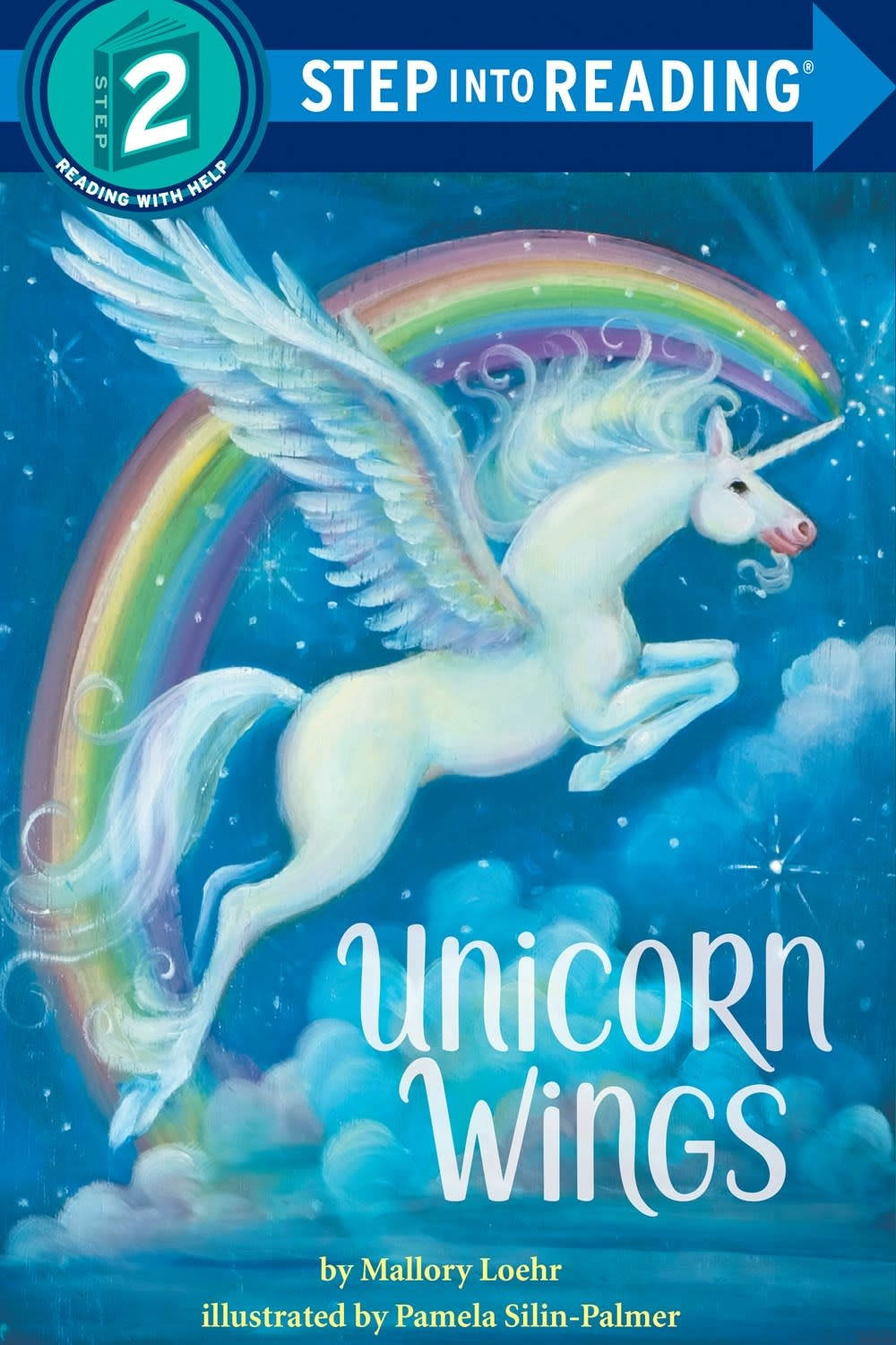 Random House Books for Young Readers Unicorn Wings (Step-into-Reading, Lvl 2)