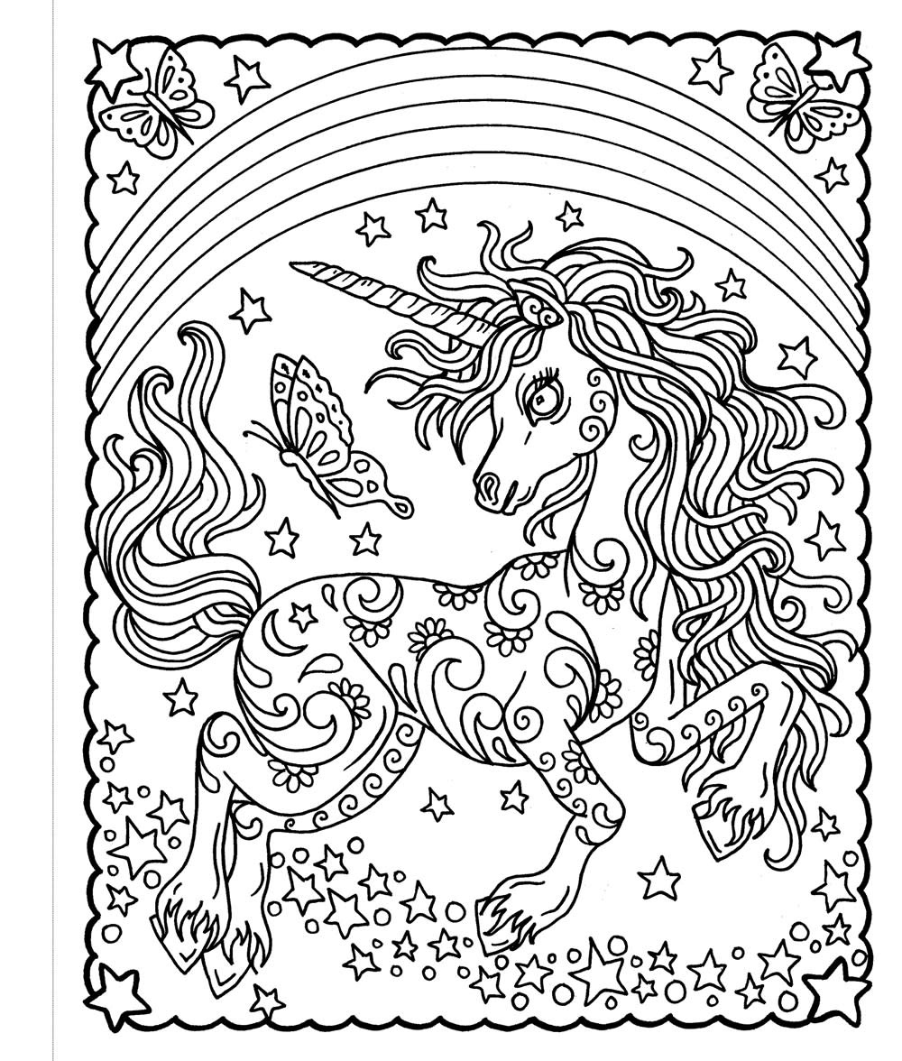 Castle Point Books Zendoodle Coloring: Rainbow Unicorns