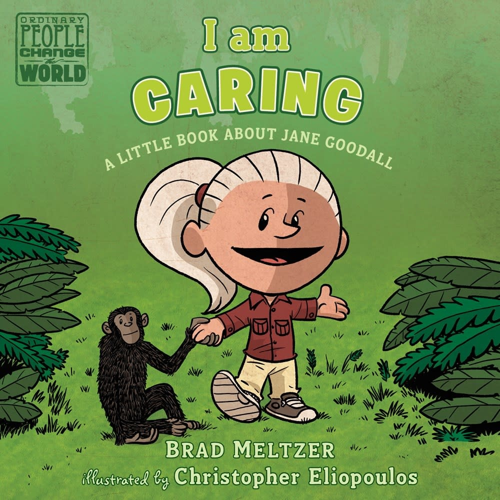 Dial Books I am Caring: A Little Book About Jane Goodall