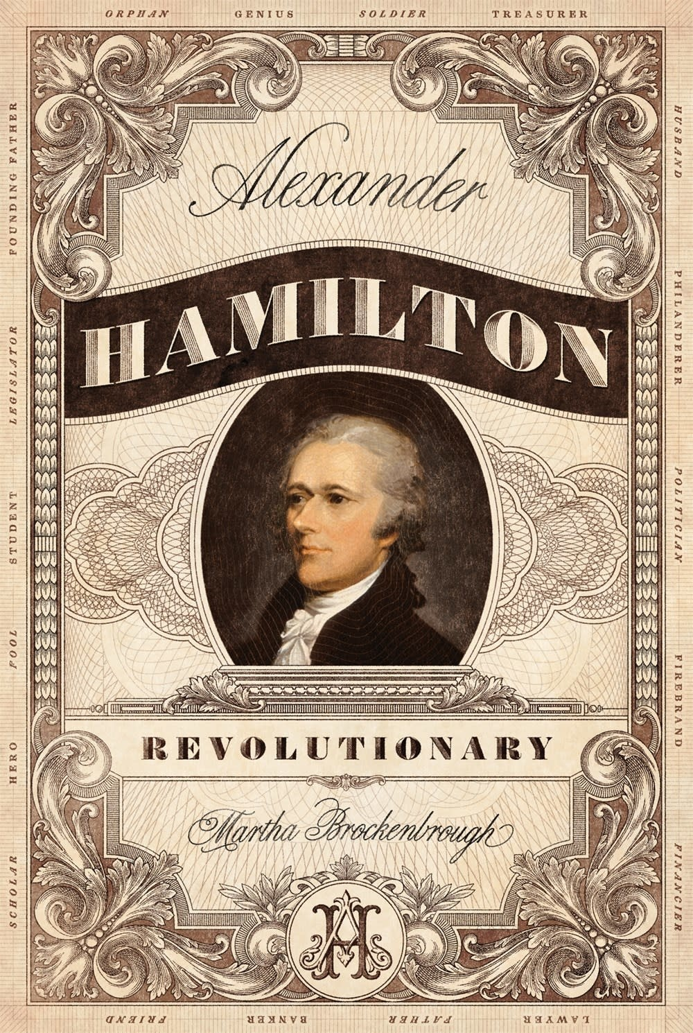 Square Fish Alexander Hamilton, Revolutionary
