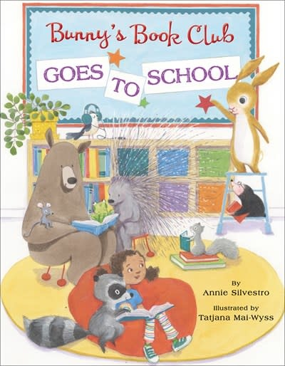Doubleday Books for Young Readers Bunny's Book Club Goes to School