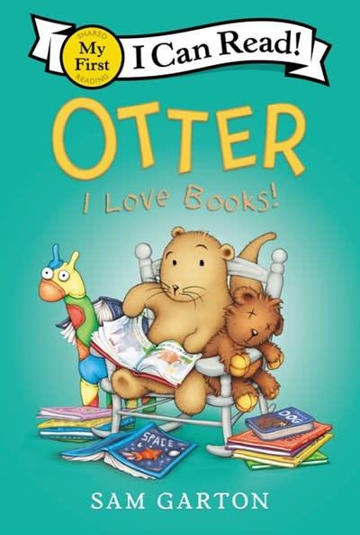 Balzer + Bray Otter: I Love Books!
