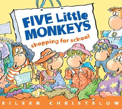 HMH Books for Young Readers Five Little Monkeys Shopping for School