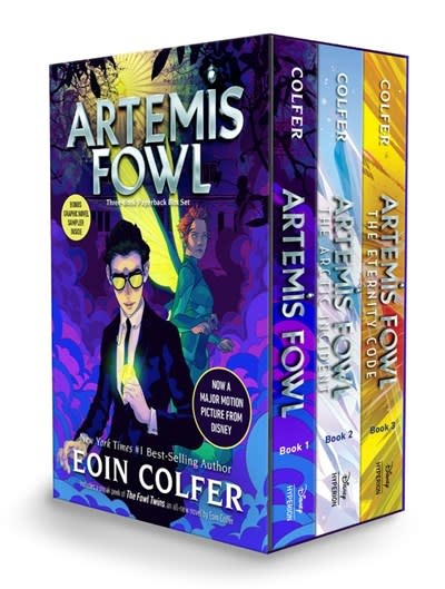 Disney-Hyperion Artemis Fowl 3-book Paperback Boxed Set (Books #1-3)