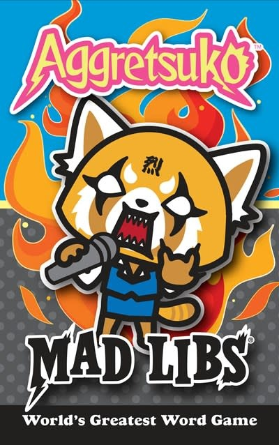 Mad Libs Aggretsuko Mad Libs