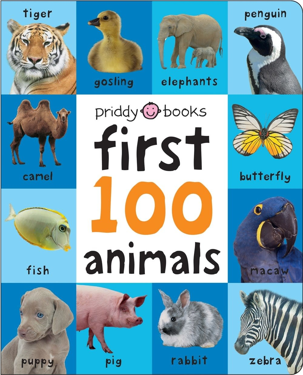 Priddy Books First 100 Animals Padded (large)