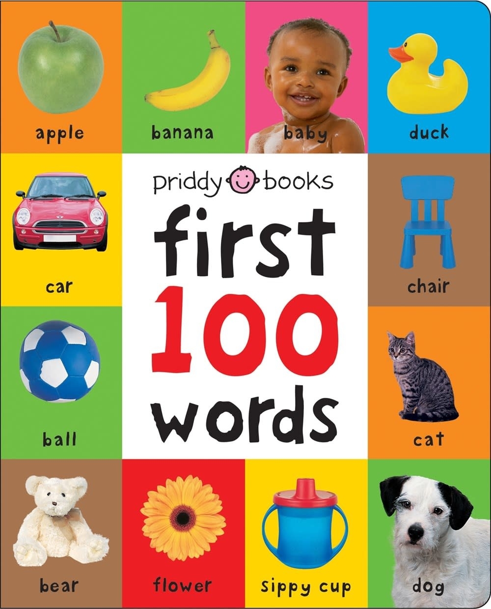 Priddy Books First 100 Words Padded (large)