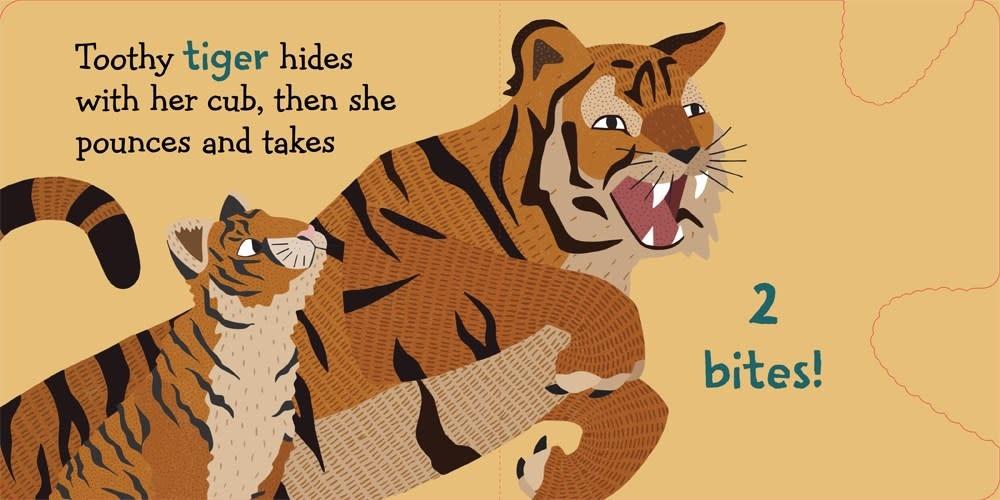 Sterling Children's Books 1-2-3 Predators Bite! (Board Book)