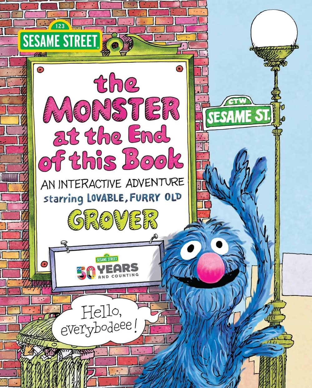 Printers Row Sesame Street: The Monster at the End of This Book
