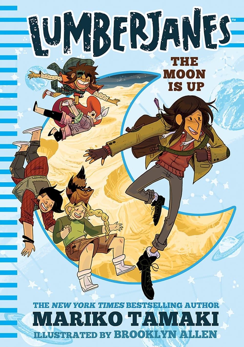 Amulet Paperbacks Lumberjanes 02 The Moon Is Up