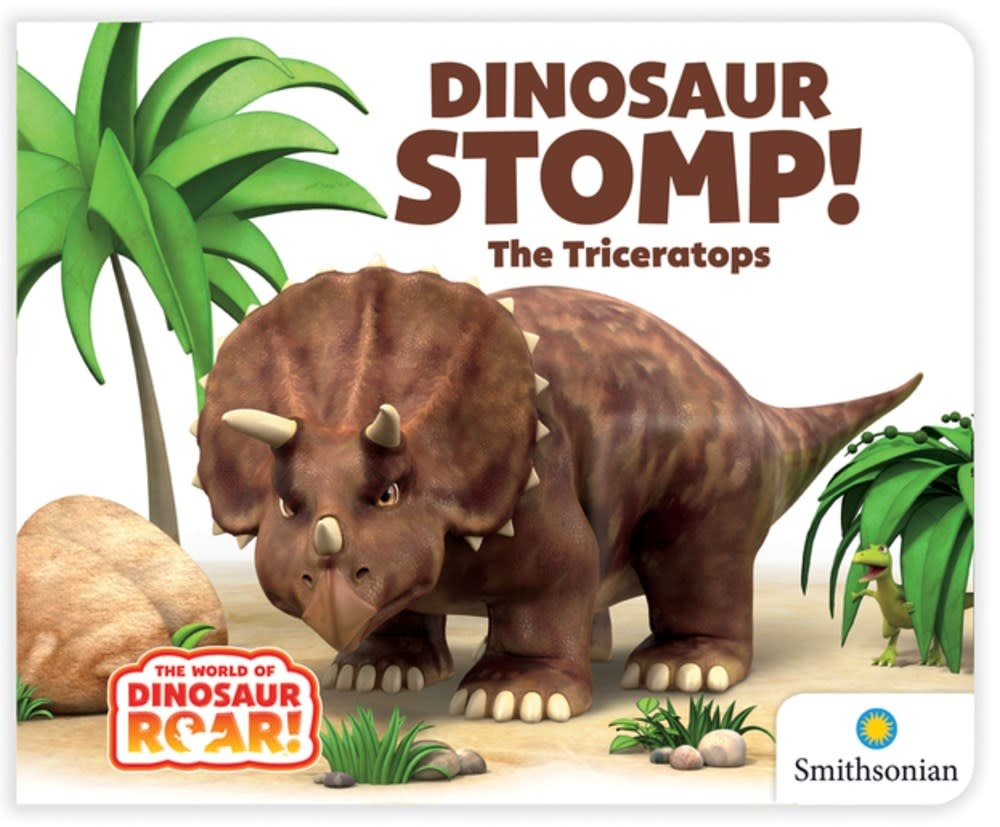 Curiosity Books Dinosaur Stomp! The Triceratops