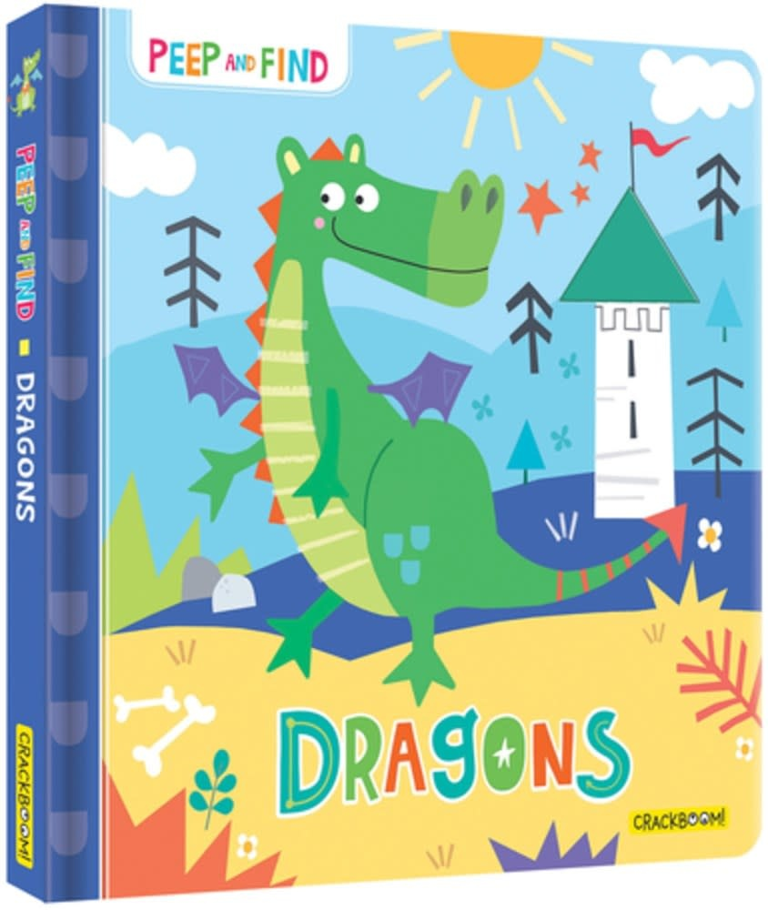 CrackBoom! Books Peep and Find: Dragons
