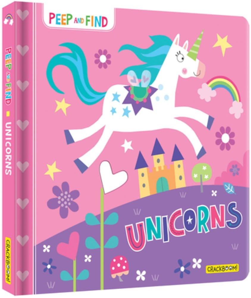CrackBoom! Books Peep and Find: Unicorns