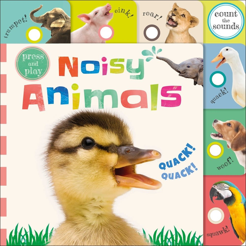 DK Children Press and Play: Noisy Animals