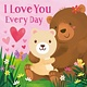 Cottage Door Press I Love You Every Day Finger Puppet Book