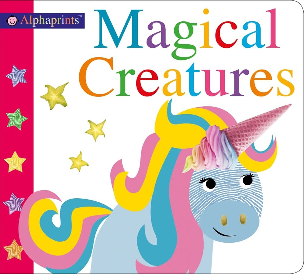 Priddy Books Alphaprints: Magical Creatures