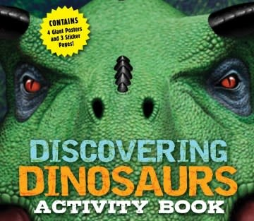 Applesauce Press Discovering Dinosaurs Activity Book