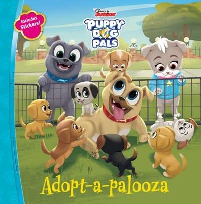 Disney Press Puppy Dog Pals Adopt-a-palooza