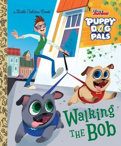 Golden/Disney Walking the Bob (Disney Junior Puppy Dog Pals)