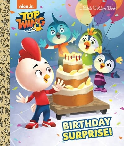 Golden Books Birthday Surprise! (Top Wing)