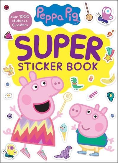 Golden Books Peppa Pig Super Sticker Book (Peppa Pig)
