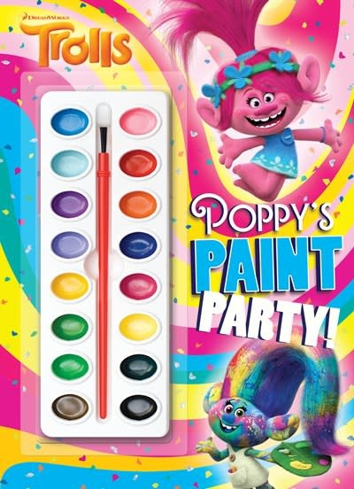 Golden Books Poppy's Paint Party! (DreamWorks Trolls)