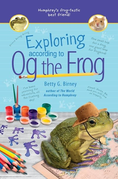 G.P. Putnam's Sons Books for Young Readers Exploring According to Og the Frog