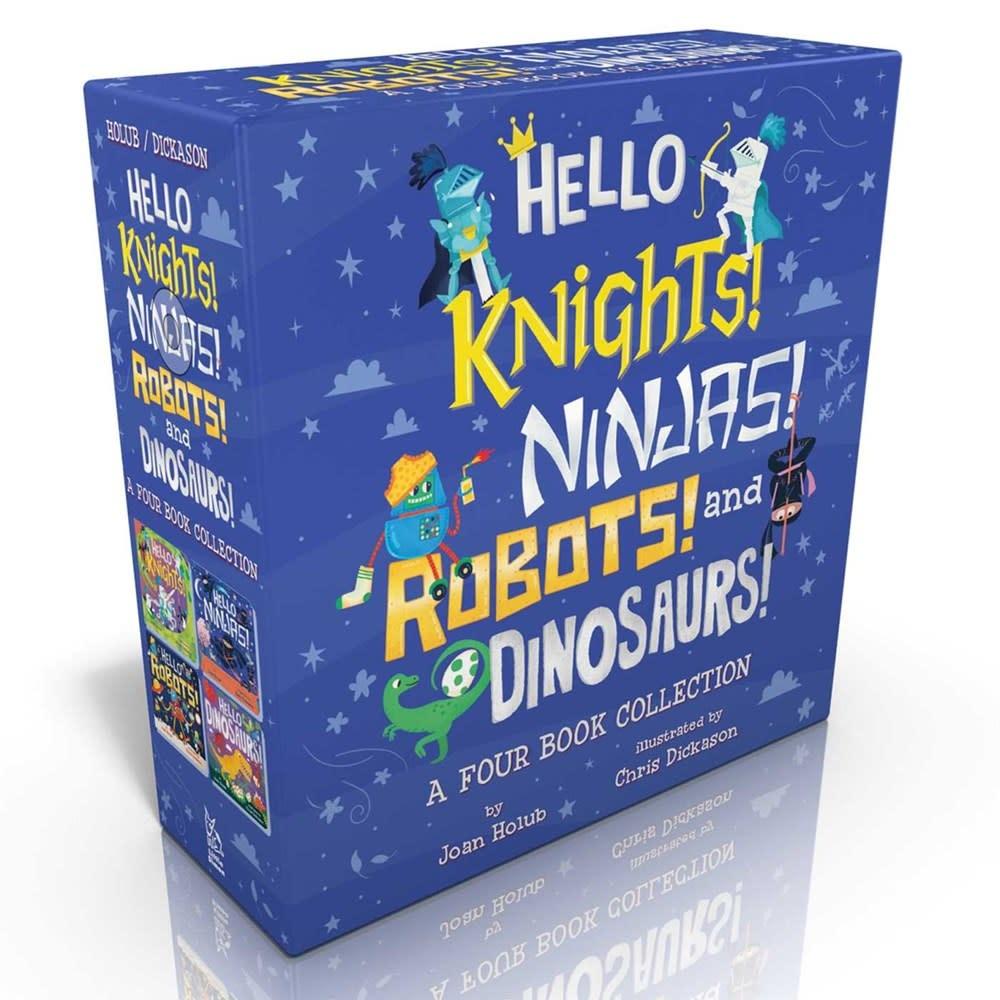 Little Simon Hello Knights! Ninjas! Robots! and Dinosaurs!