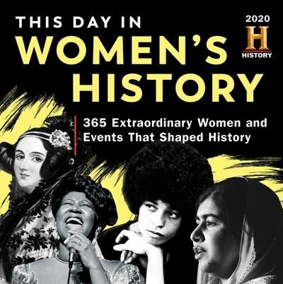Sourcebooks 2020 History Channel This Day in Women's History Boxed Calendar