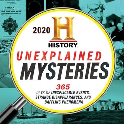 Sourcebooks 2020 History Channel Unexplained Mysteries Boxed Calendar