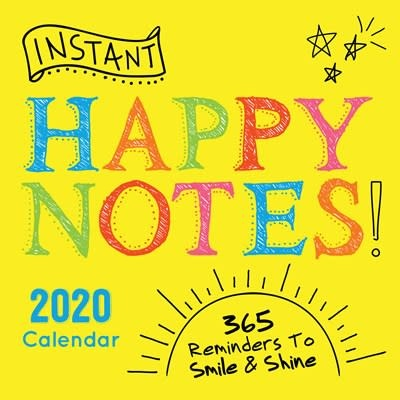 Sourcebooks 2020 Instant Happy Notes Boxed Calendar
