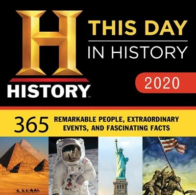 Sourcebooks 2020 History Channel This Day in History Boxed Calendar