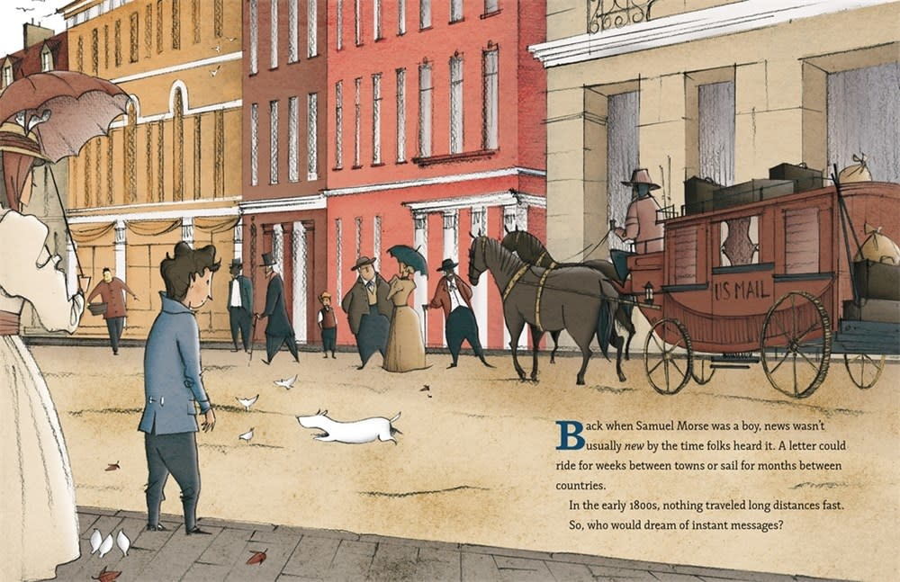Henry Holt and Co. (BYR) Samuel Morse, That's Who!: The Story of the Telegraph and Morse Code