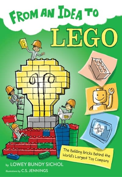 HMH Books for Young Readers From an Idea to Lego