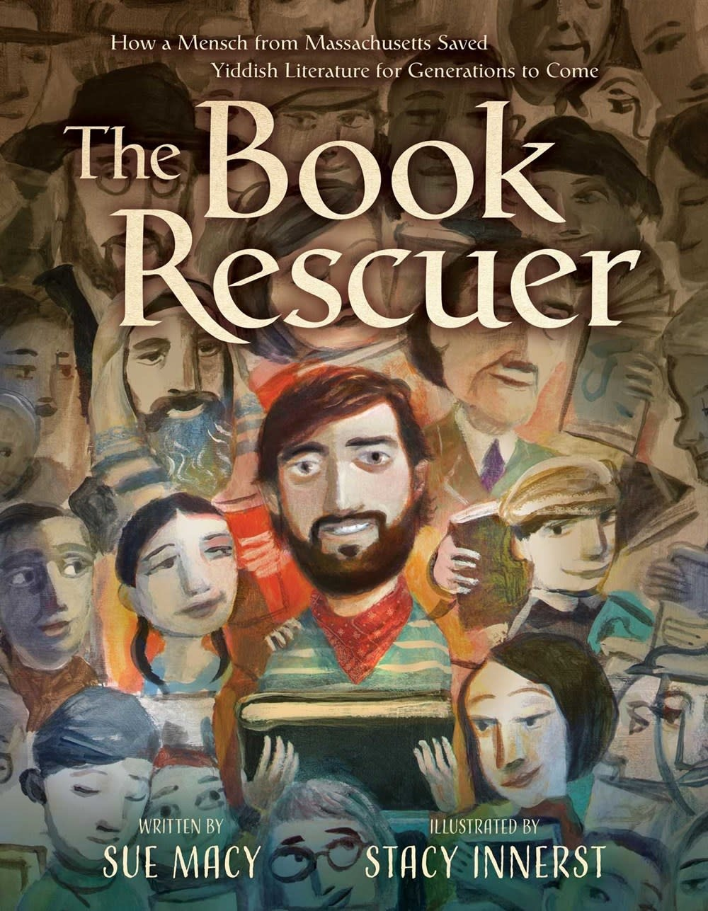 Simon & Schuster/Paula Wiseman Books The Book Rescuer: ...Saved Yiddish Literature [Aaron Lansky]