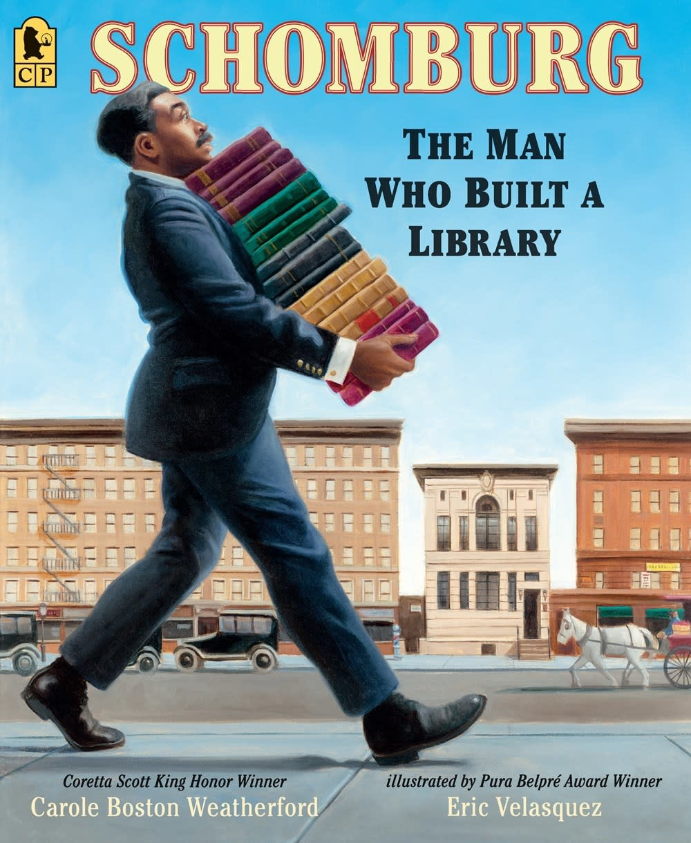 Candlewick Schomburg: The Man Who Built a Library