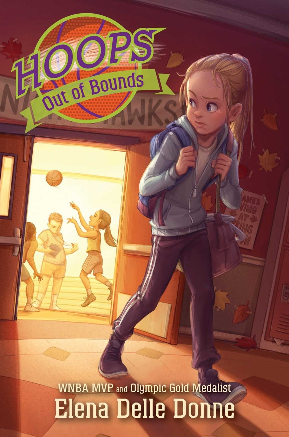 Simon & Schuster Books for Young Readers Hoops: Out of Bounds