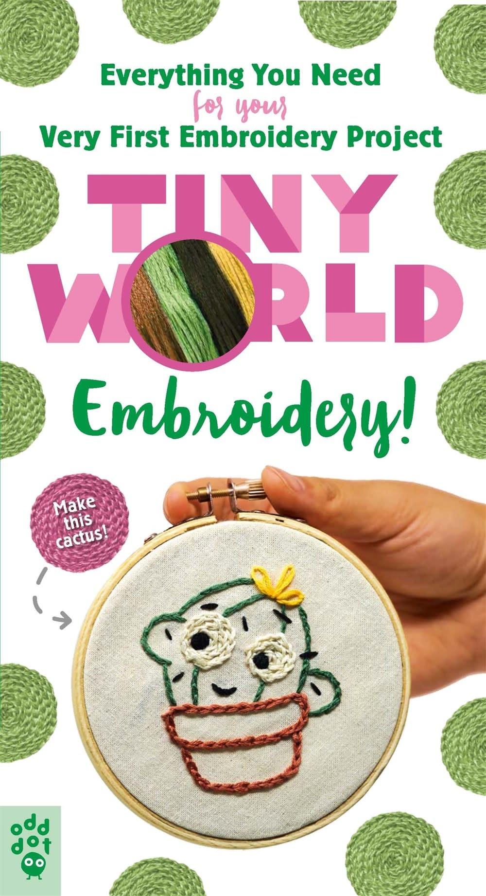 Odd Dot Tiny World: Embroidery!