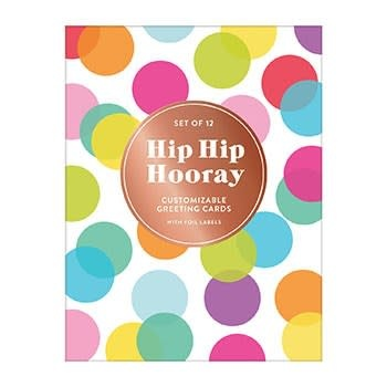 Galison Hip Hip Hooray (DIY Notecard Folio)