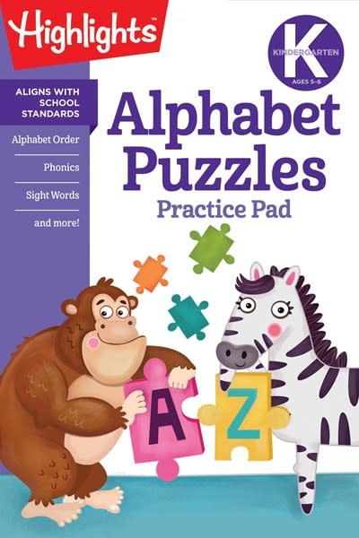 Highlights Learning Kindergarten Alphabet Puzzles