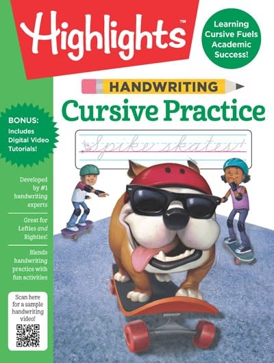 Highlights Learning Handwriting: Cursive Practice