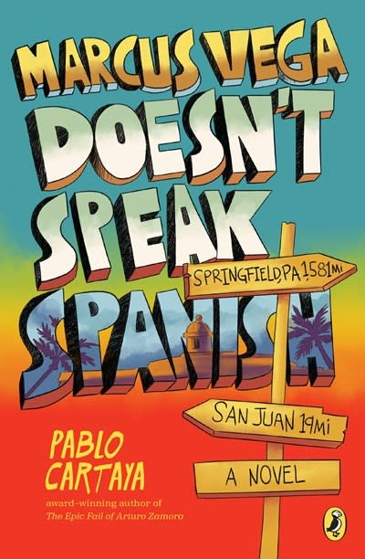 Puffin Books Marcus Vega Doesn't Speak Spanish