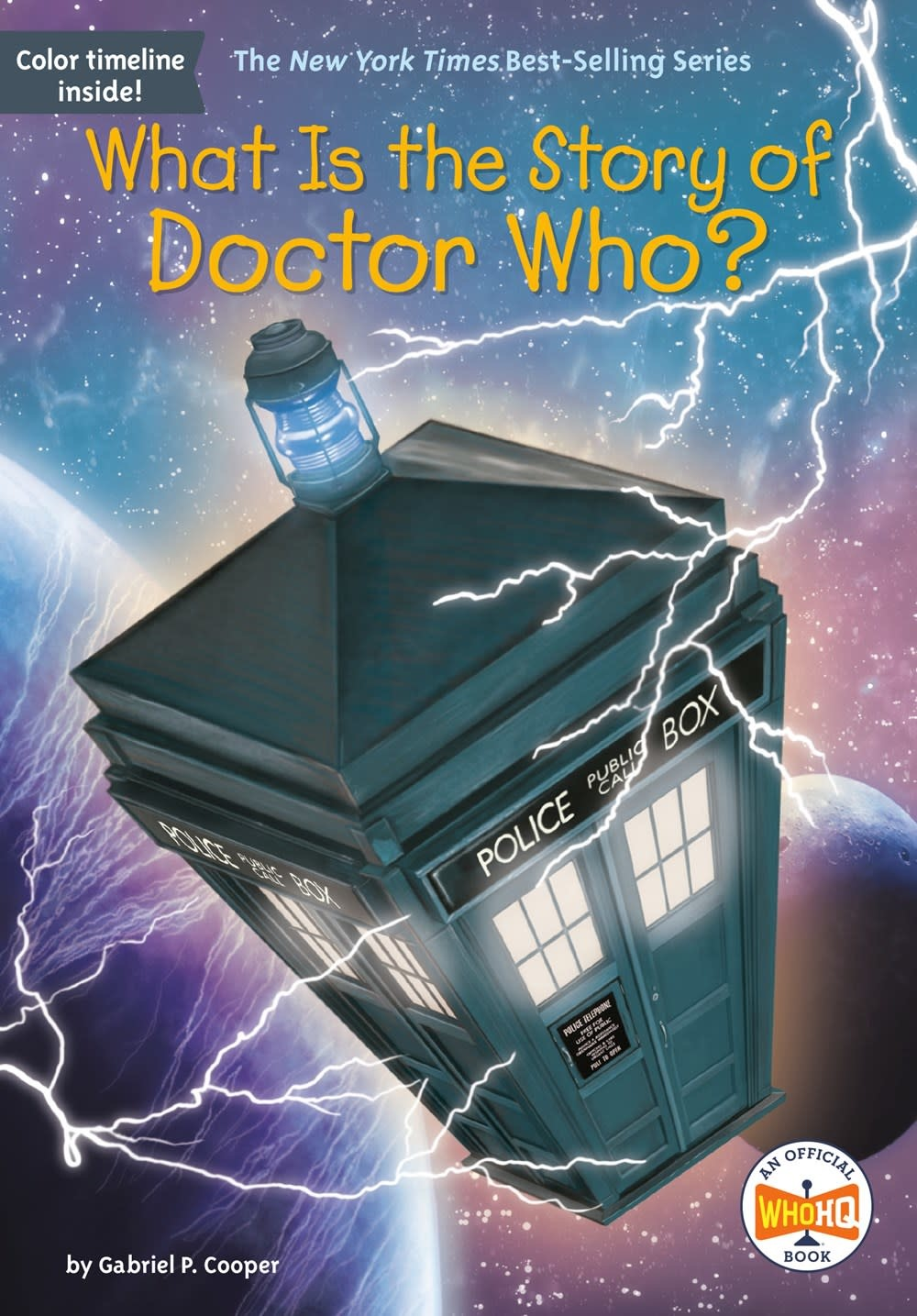 Penguin Workshop Who Was...?: What Is the Story of Doctor Who?