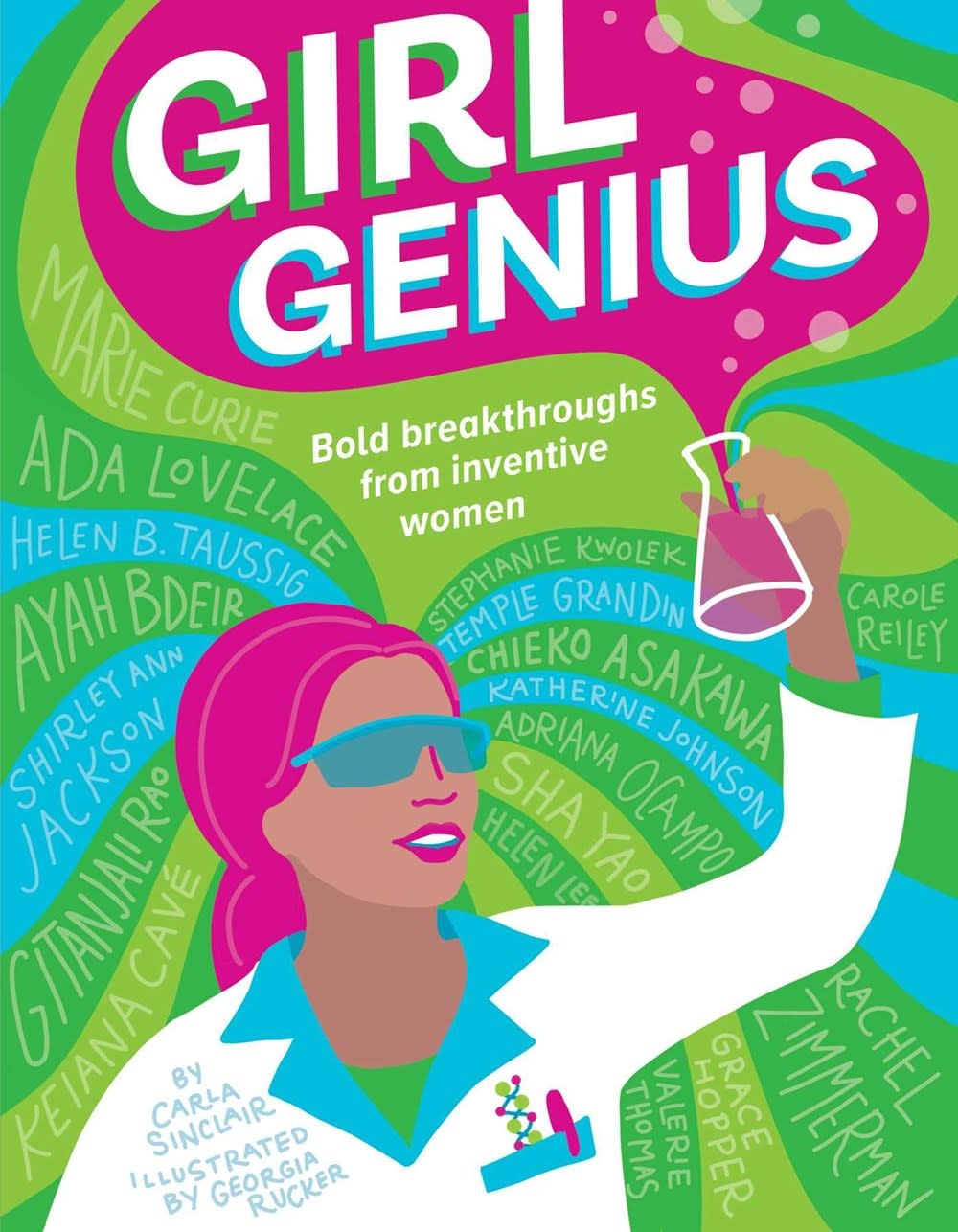 Downtown Bookworks Girl Genius: Bold Breakthroughs from Inventive Women