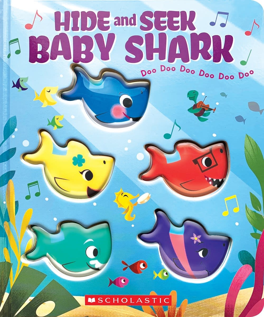 Cartwheel Hide-and-Seek, Baby Shark!