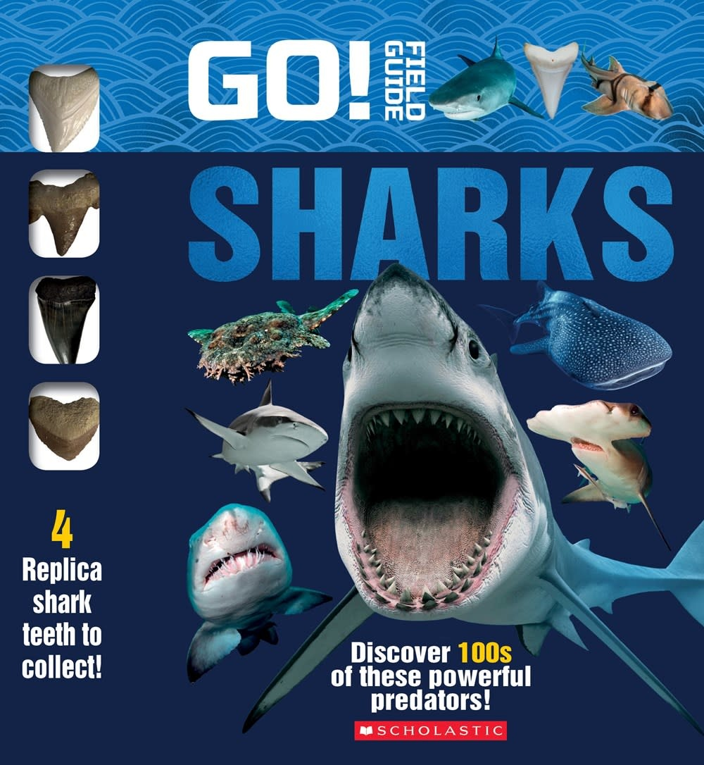 Scholastic Nonfiction Go! Field Guide: Sharks