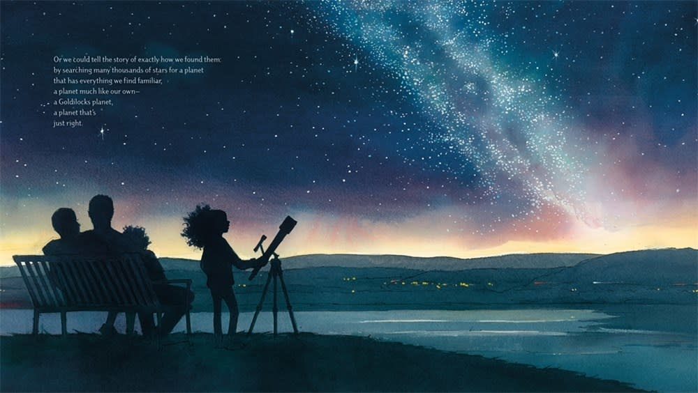Roaring Brook Press Just Right: Searching for the Goldilocks Planet