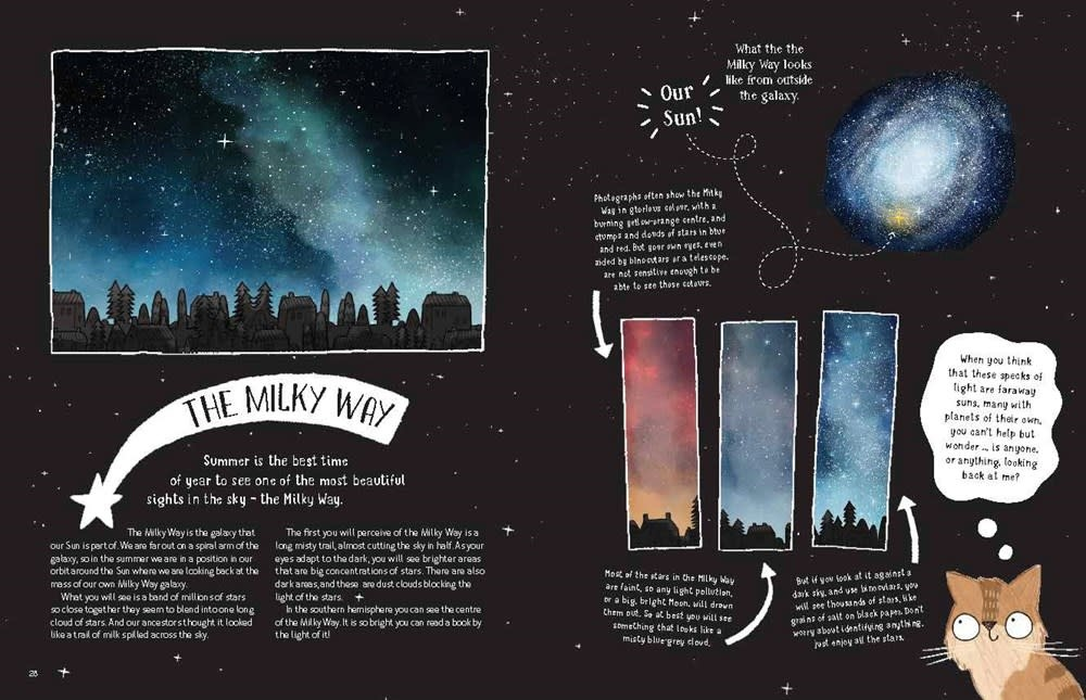 Laurence King Publishing A Cat's Guide to the Night Sky