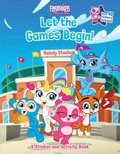 Penguin Young Readers Licenses Fingerlings: Let the Games Begin! A Sticker and Activity Book